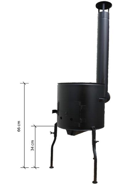 Kovová kotlina VARIO 1 a smaltovaná kotlina VARIO 2
